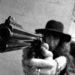 Cell phone gun fire
