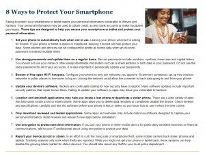 8 Ways to Protect Your Smartphone