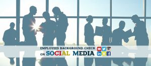 Social media as part of pre-employment background checks