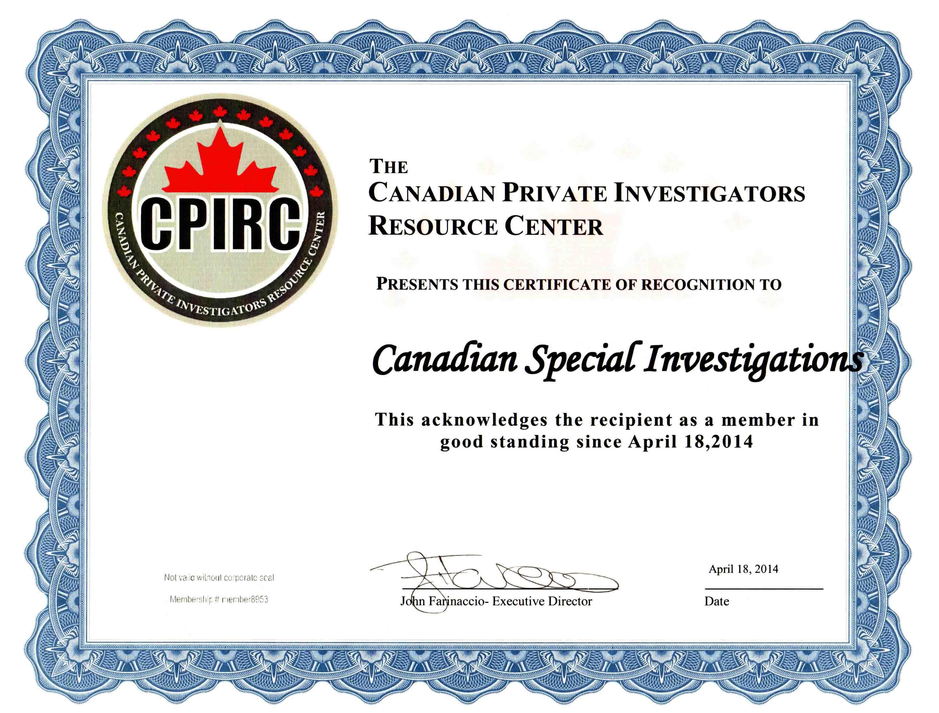Private Investigation Services, Best Private Investigator Toronto